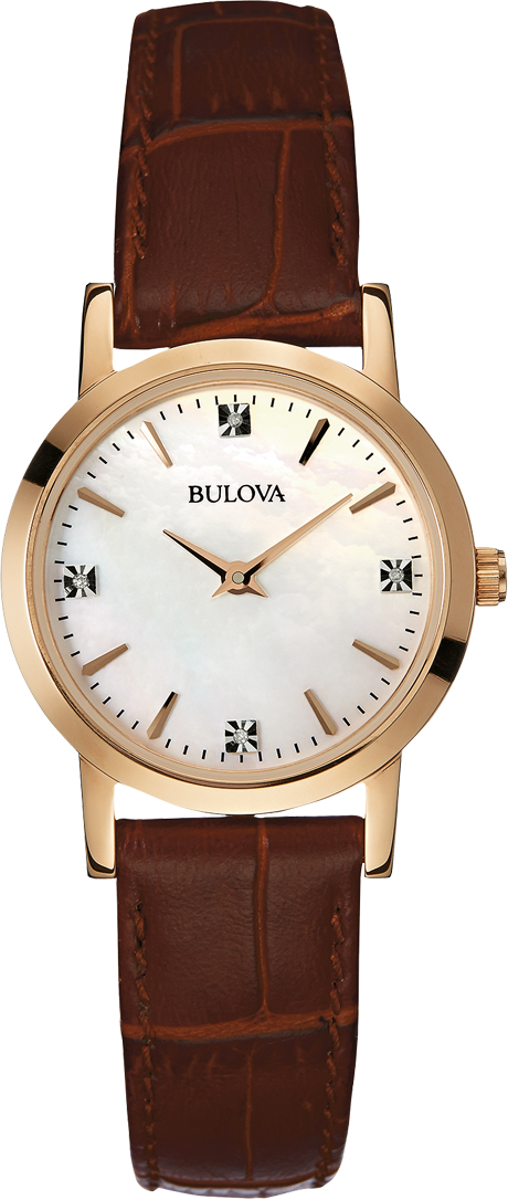 Bulova Women's Diamond Japanese Watch, 27mm