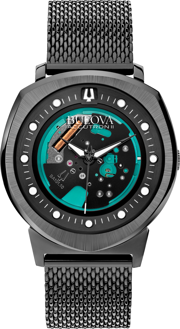 Bulova Accutron II Alpha 262 kHz Watch 42mm