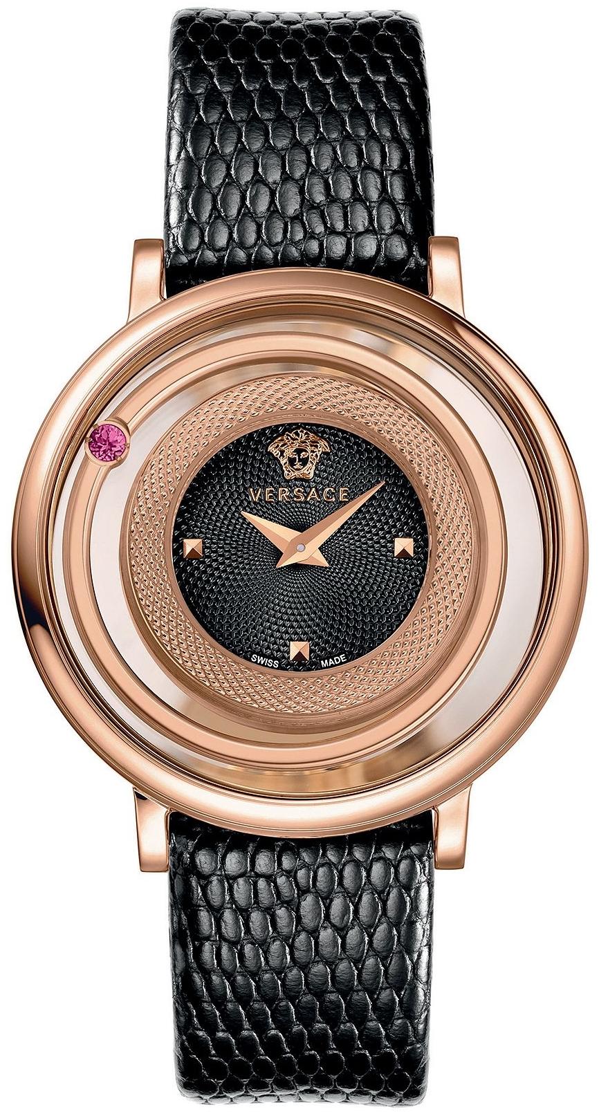 Versace Venus Lizard-Embossed Watch 39mm