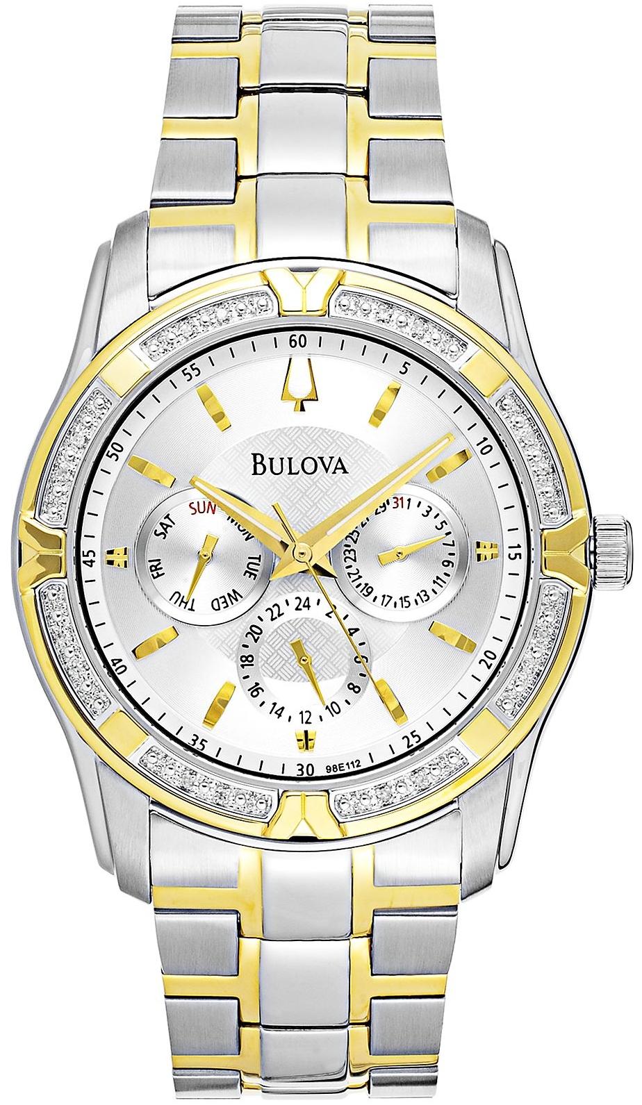 Bulova Men's Diamond Watch 42mm