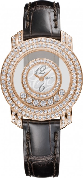 HAPPY DIAMONDS 18-KARAT ROSE GOLD AND DIAMONDS