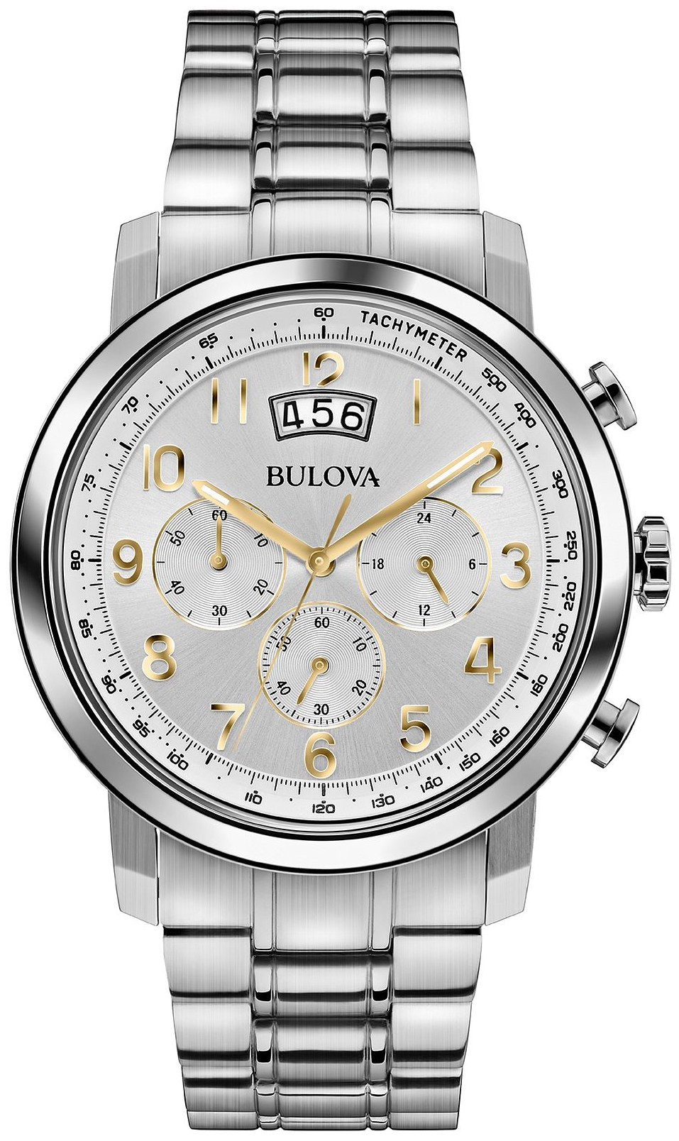 Bulova Men's Chronograph Watch 42mm