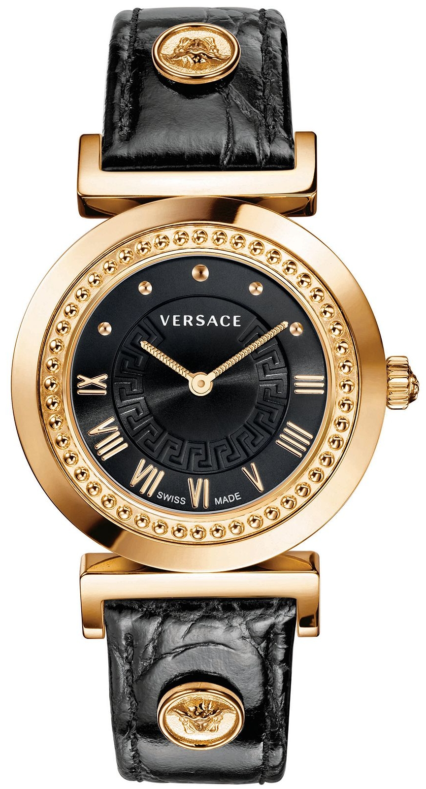 Versace Vanity Women's Croco Watch 35mm