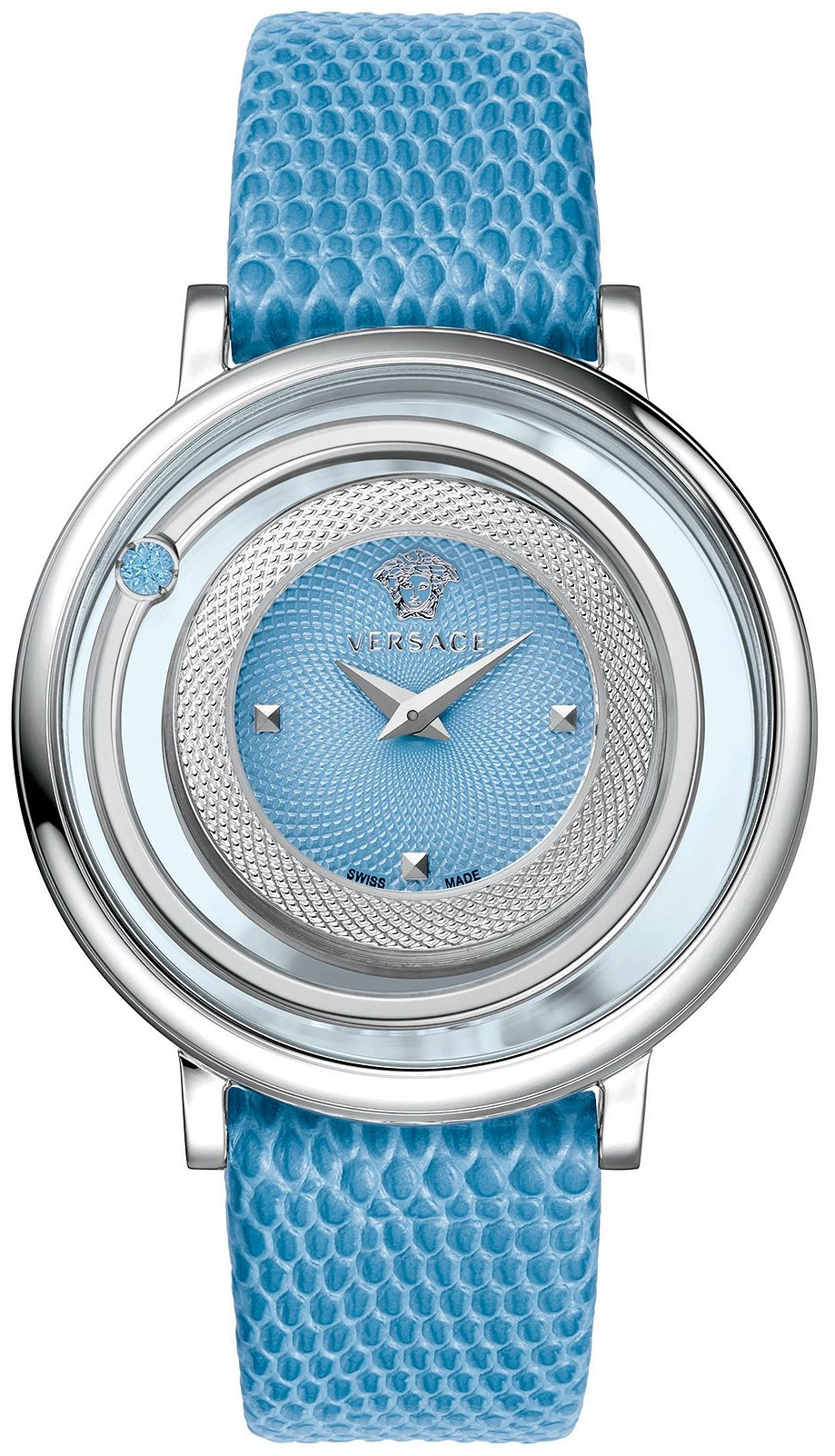 Versace Venus Swiss Blue Watch 39mm