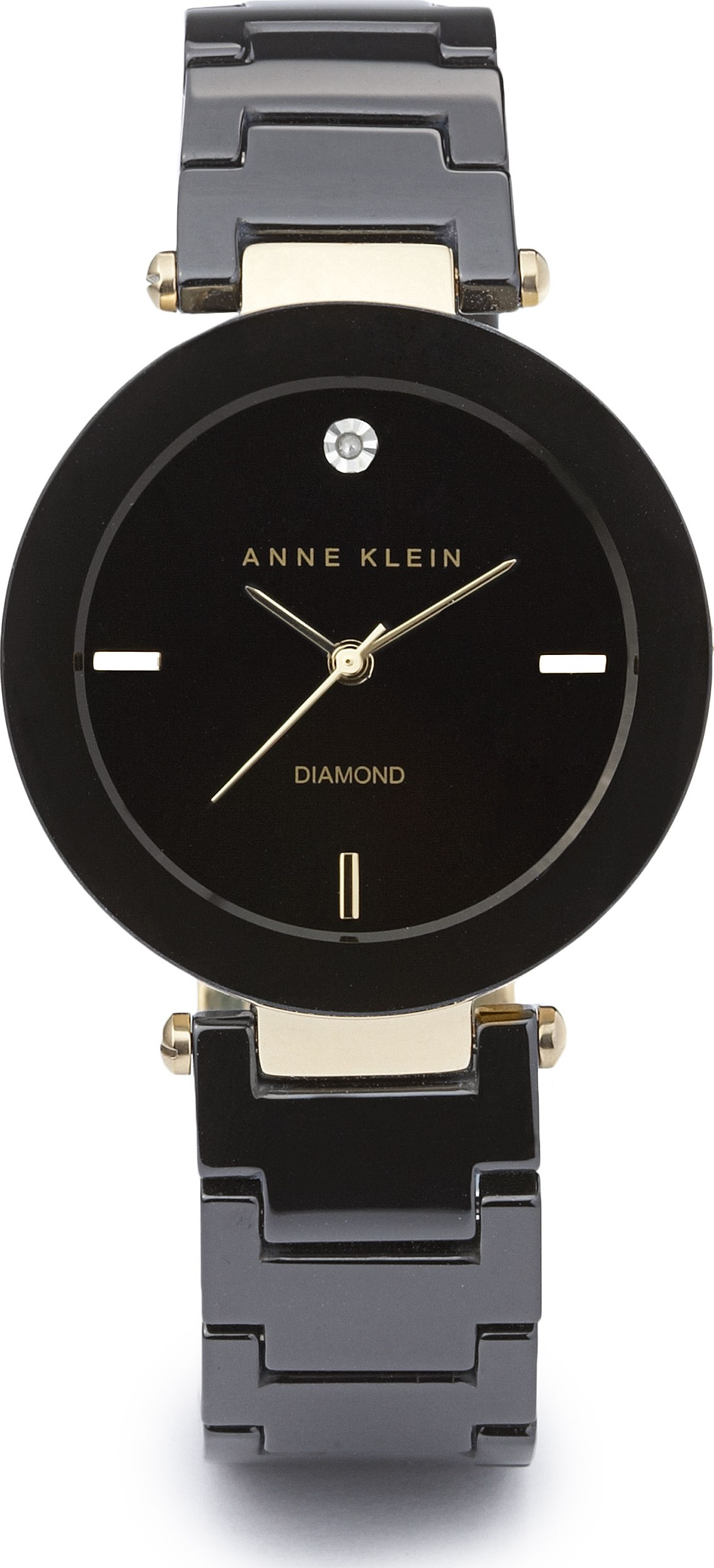 Đồng hồ ANNE KLEIN CERAMIC LINK BRACELET WATCH 30MM
