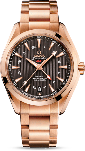 Aqua Terra 150 M Co-Axial GMT 231.50.43.22.06.002 43 mm