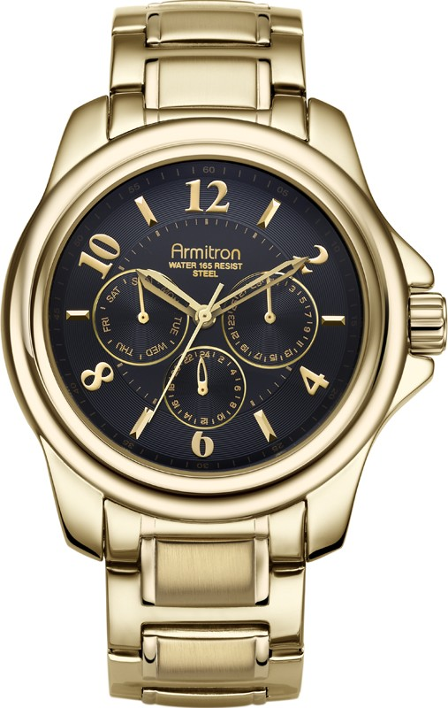 Armitron Men's Gold-Tone Watch, 45mm