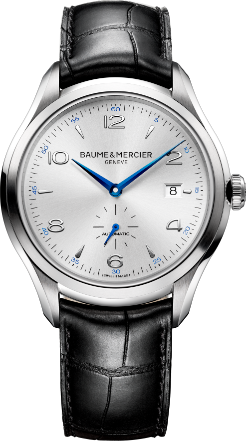 Baume And Mercier Clifton 10052 Black Watch 41mm