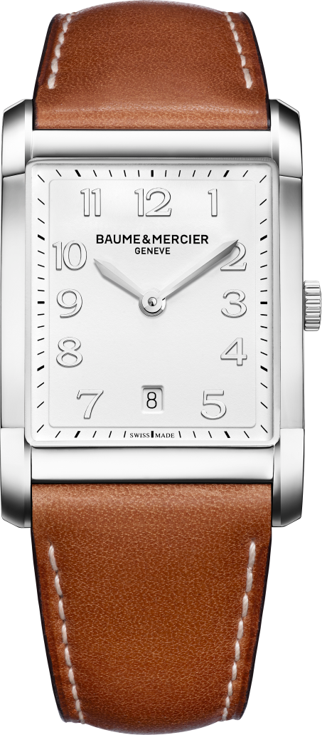 Baume et Mercier Hampton Mens Watch, 42.6mm x 29.2mm