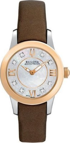 Bulova Accutron Masella Diamond Watch 28mm