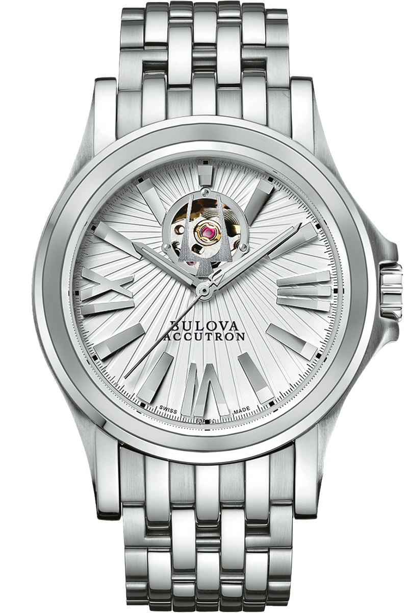 đồng hồ Bulova Accutron Men Stainless Steel Sapphire 40mm