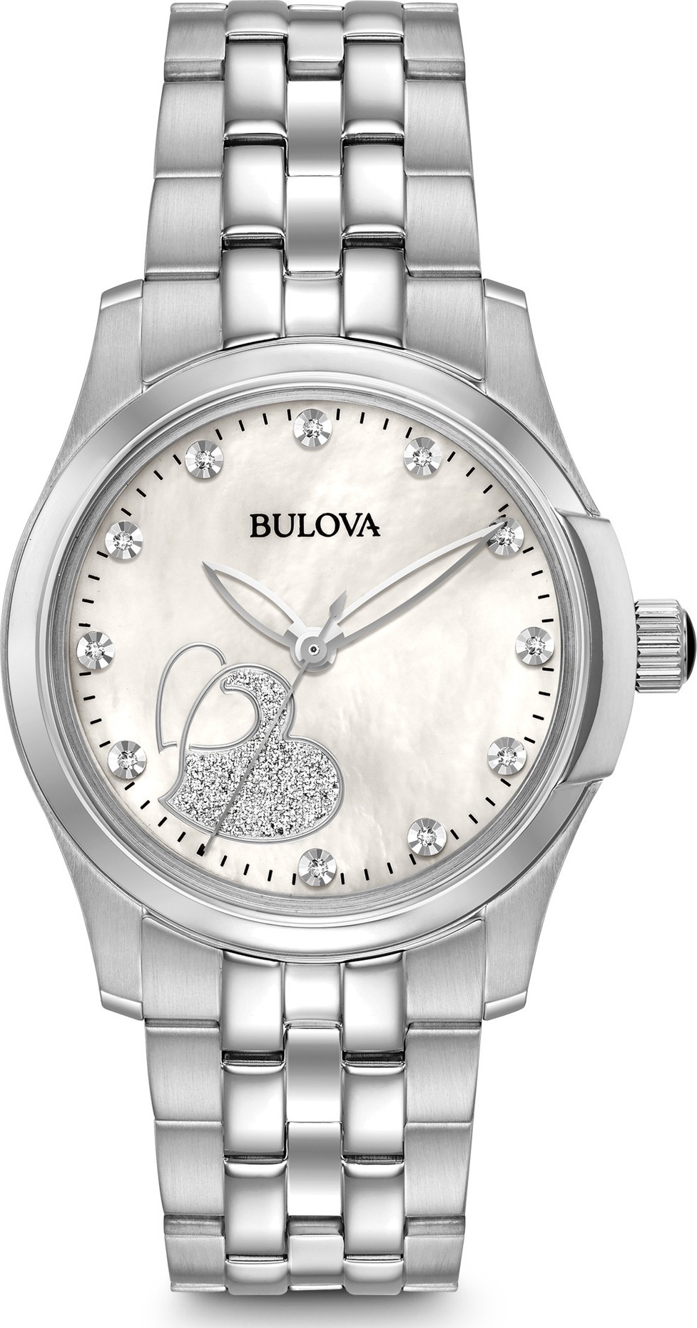 Bulova Diamond Watch 33mm