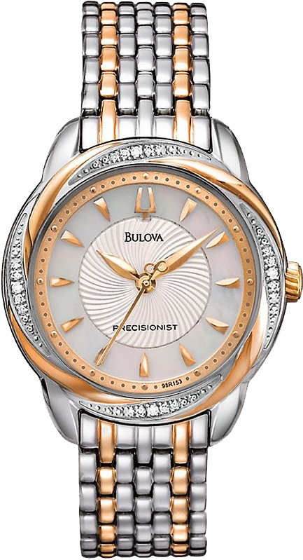 Bulova Women's Precisionist Brightwater Diamond Watch 30mm