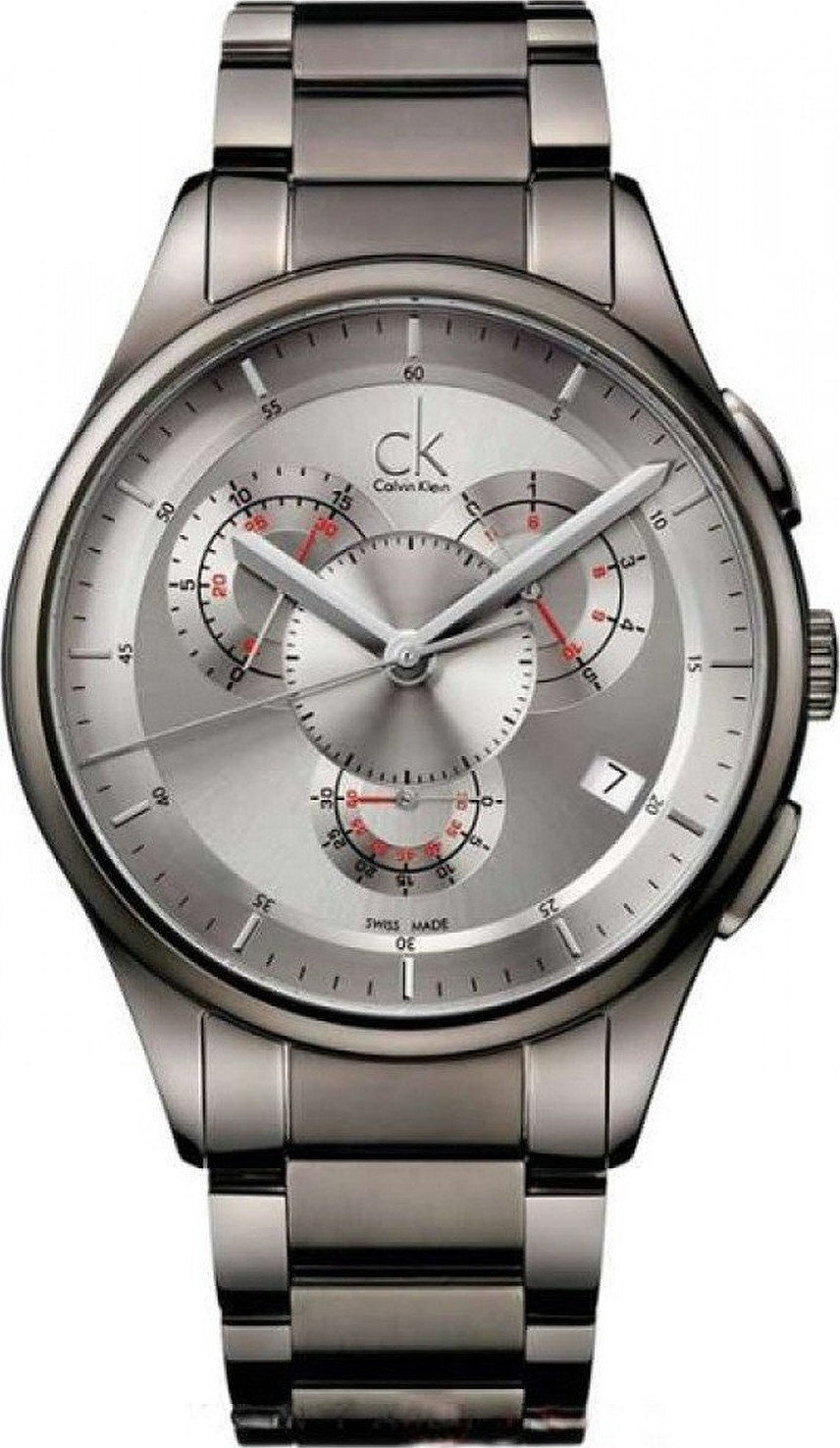 Calvin Klein Basic Swiss Grey Men's Watch 43mm