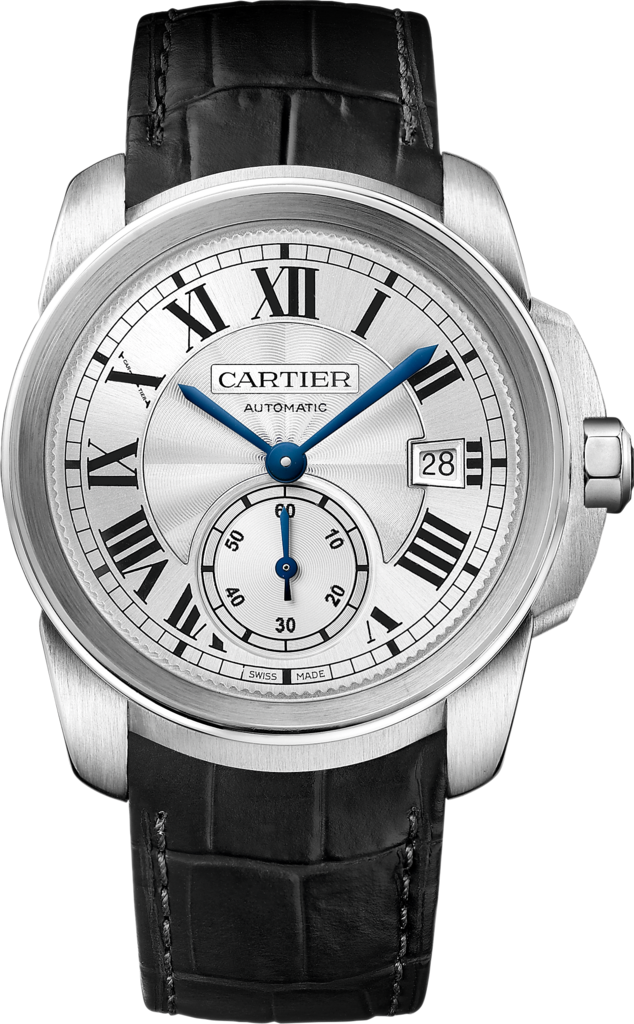 CARTIER Calibre de Cartier Silver  Watch 38mm