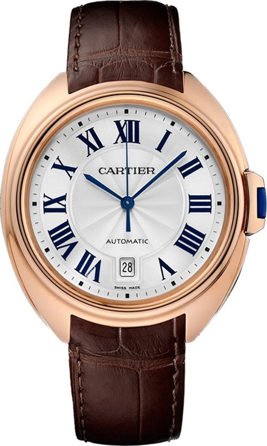CARTIER Cle Automatic Flinque 18kt Watch 40mm