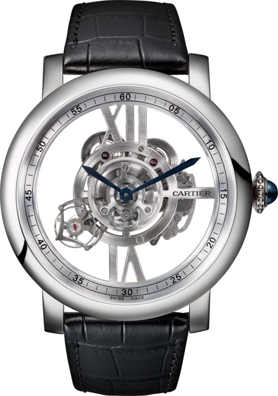 CARTIER  ROTONDE DE ASTROTOURBILLON WATCH 47MM