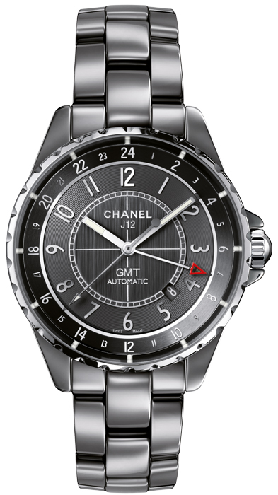 Chanel h3099 Mens Automatic Ceramic Sapphire Grey 41mm