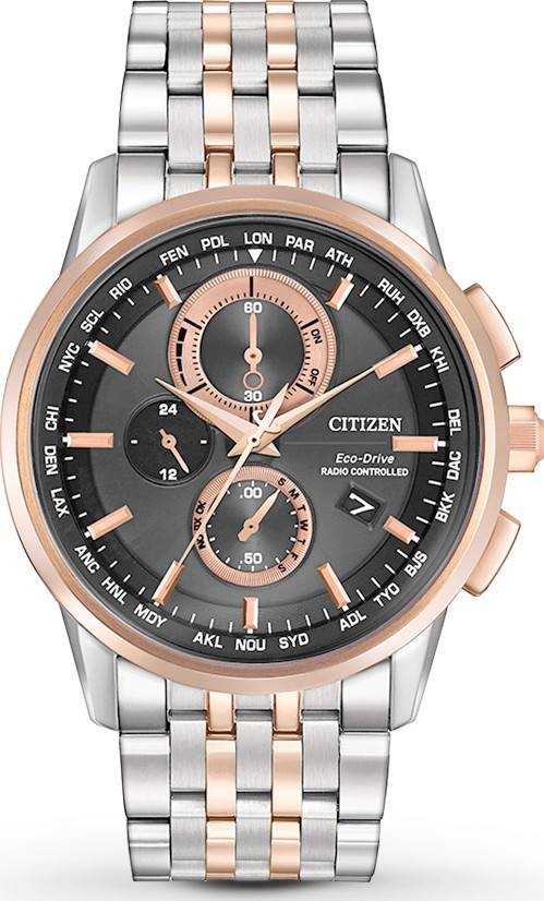 CITIZEN WORLD CHRONOGRAPH A-T Watch 43mm