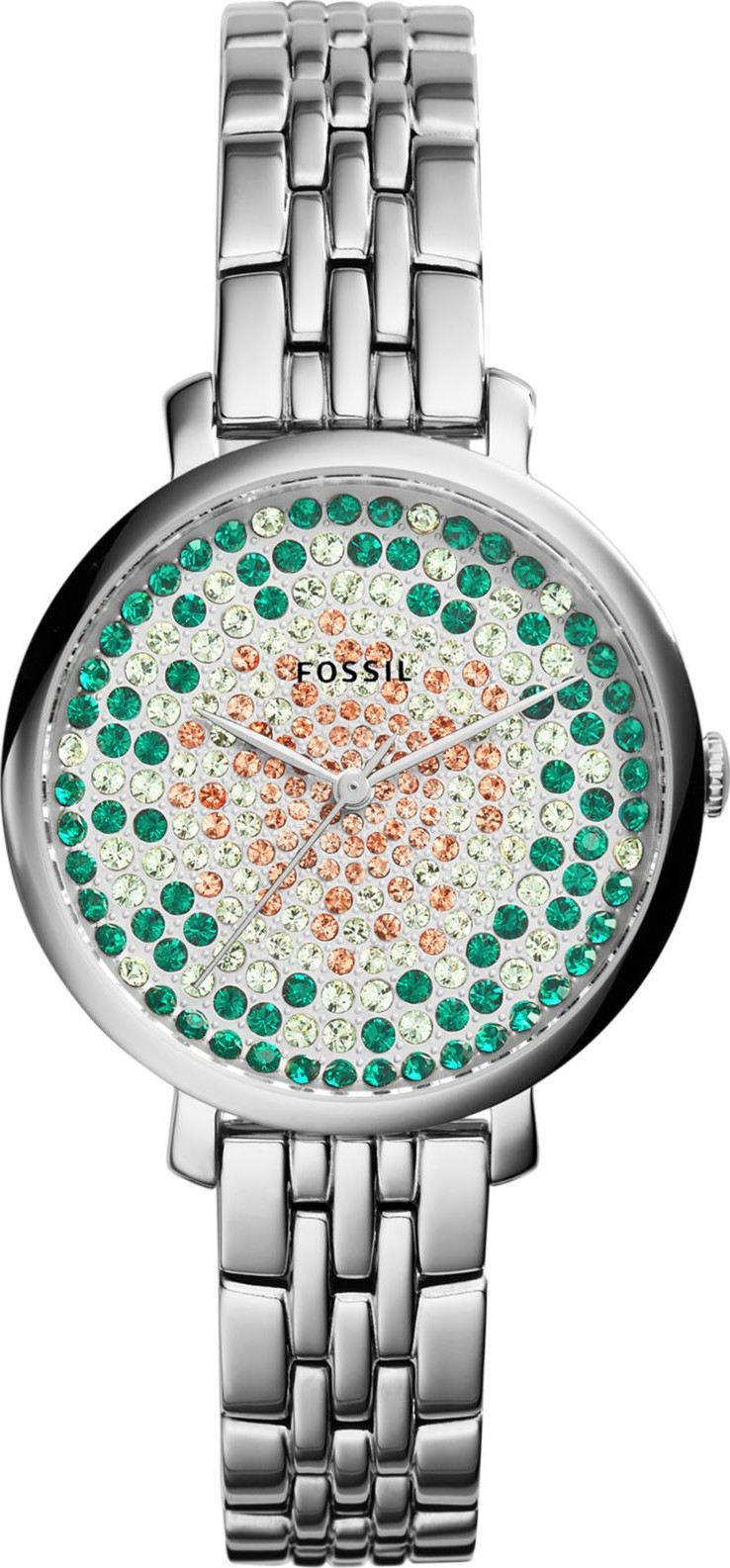 Fossil Analog Display Silver-Tone Quartz Women's Watch 36mm