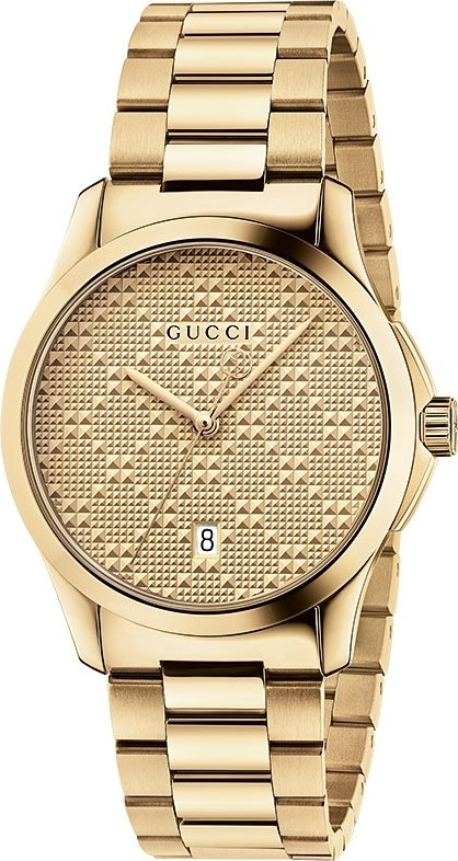 GUCCI G-timeless  Gold Tone Unisex Watch 38mm