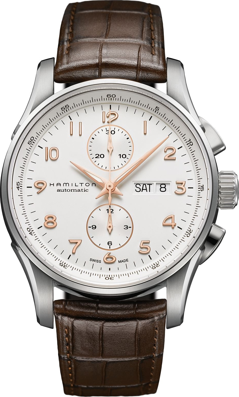 Hamilton Men's Swiss Automatic Leather 45mm