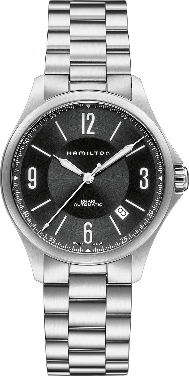 Hamilton Men's Swiss Steel Bracelet 38mm