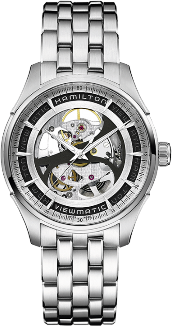 Hamilton Jazzmaster Viewmatic Skeleton Men's Watch 40mm