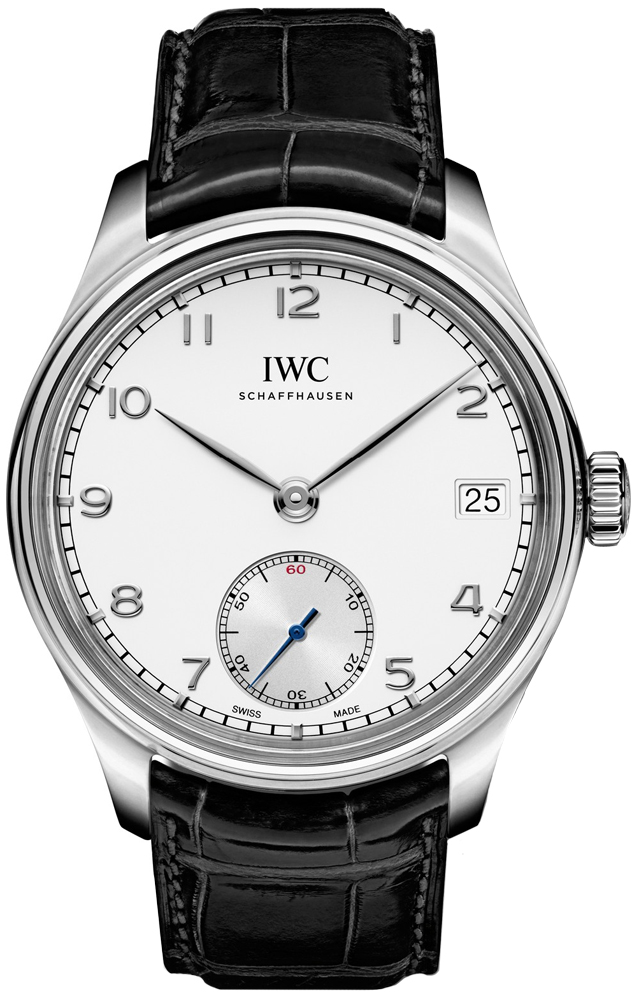 IWC IW510203 Mens Sapphire Stainless Steel Leather 43mm