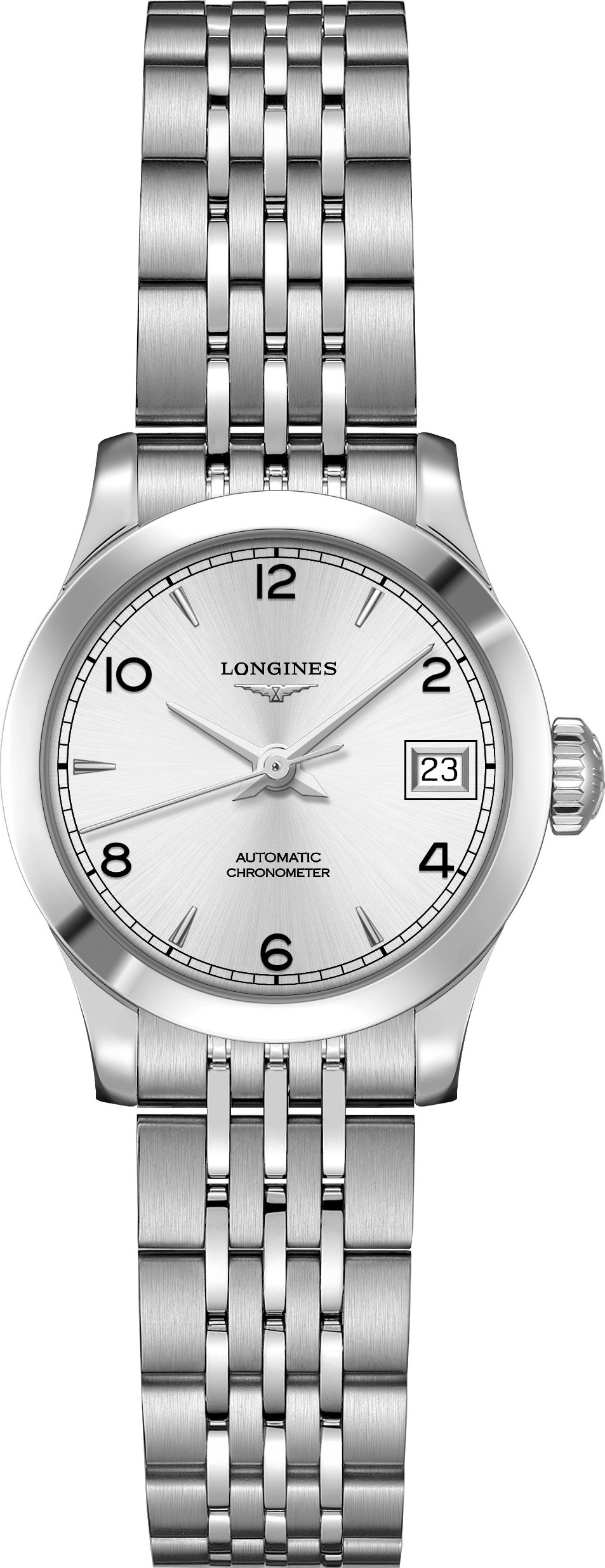 Longines L2.320.4.76.6 Record Watch 26mm