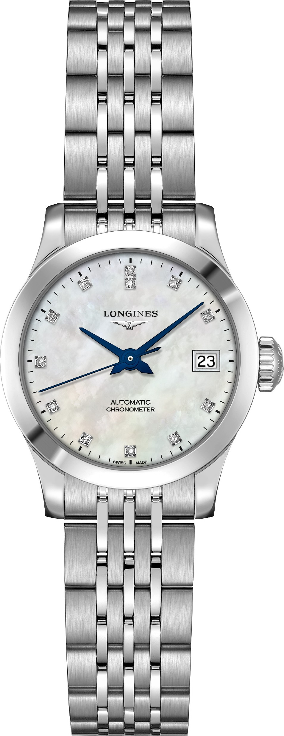 Longines L2.320.4.87.6 Record Watch 26mm