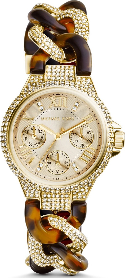 Michael Kors Camille Champagne Watch 33mm