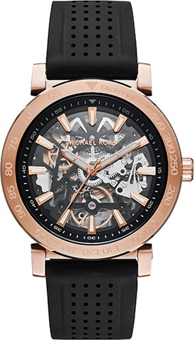 MICHAEL KORS Halo Skeleton Automatic Watch 43mm
