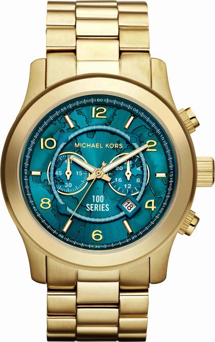 Michael Kors Hunger Stop Oversized 100 Series Men's Watch 48mm