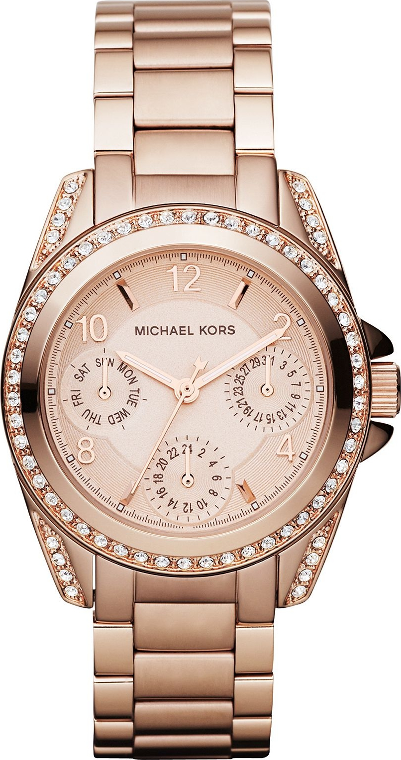 Michael Kors Blair Mini Rose Gold Ladies Watch 33mm