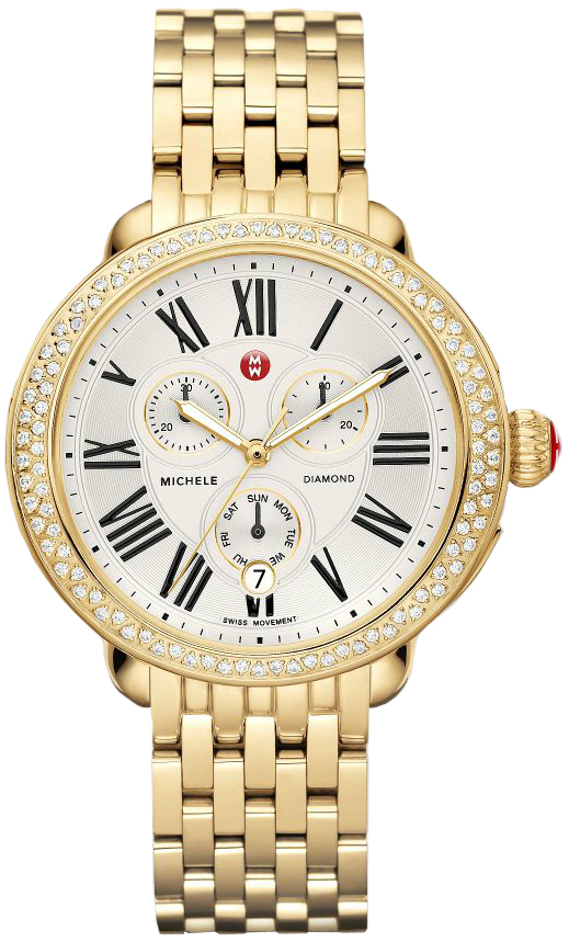 Michele Serein Diamond Swiss Watch 40* 38mm