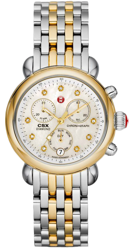 Michele CSX-36 Ladies Signature Stainless 36mm