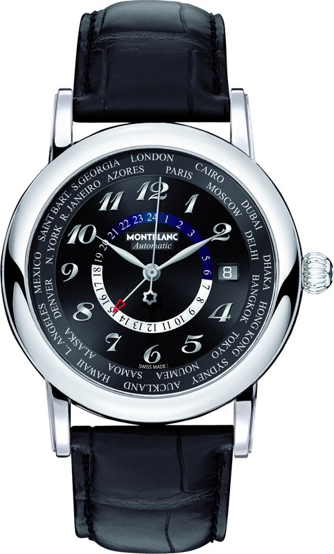 Montblanc Star 106464 Automatic World Time Mens Watch 42mm