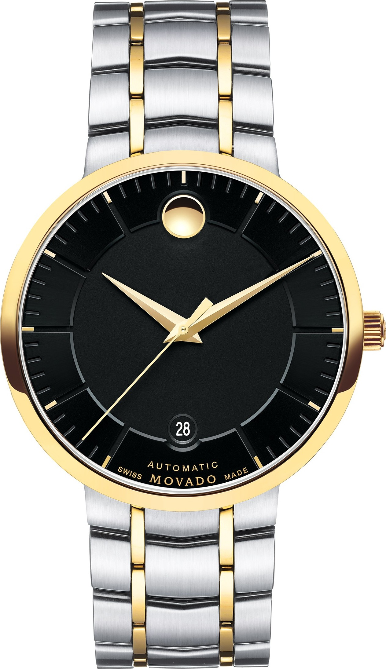 MOVADO 1881 AUTOMATIC Black Men's Watch 39.5mm