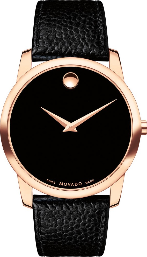 Movado Museum Classic RG PVD Watch 40mm