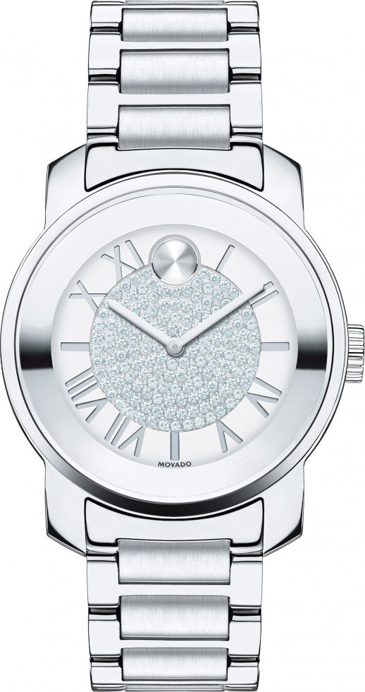 MOVADO WOMEN'S SWISS BOLD BRACELET WATCH 32MM