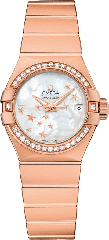 Omega Constellation Co-Axial Automatic Star 12355272005003 27mm