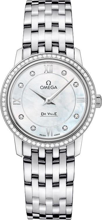 OMEGA DeVille Prestige 424.15.27.60.55.001 Watch 27.4mm