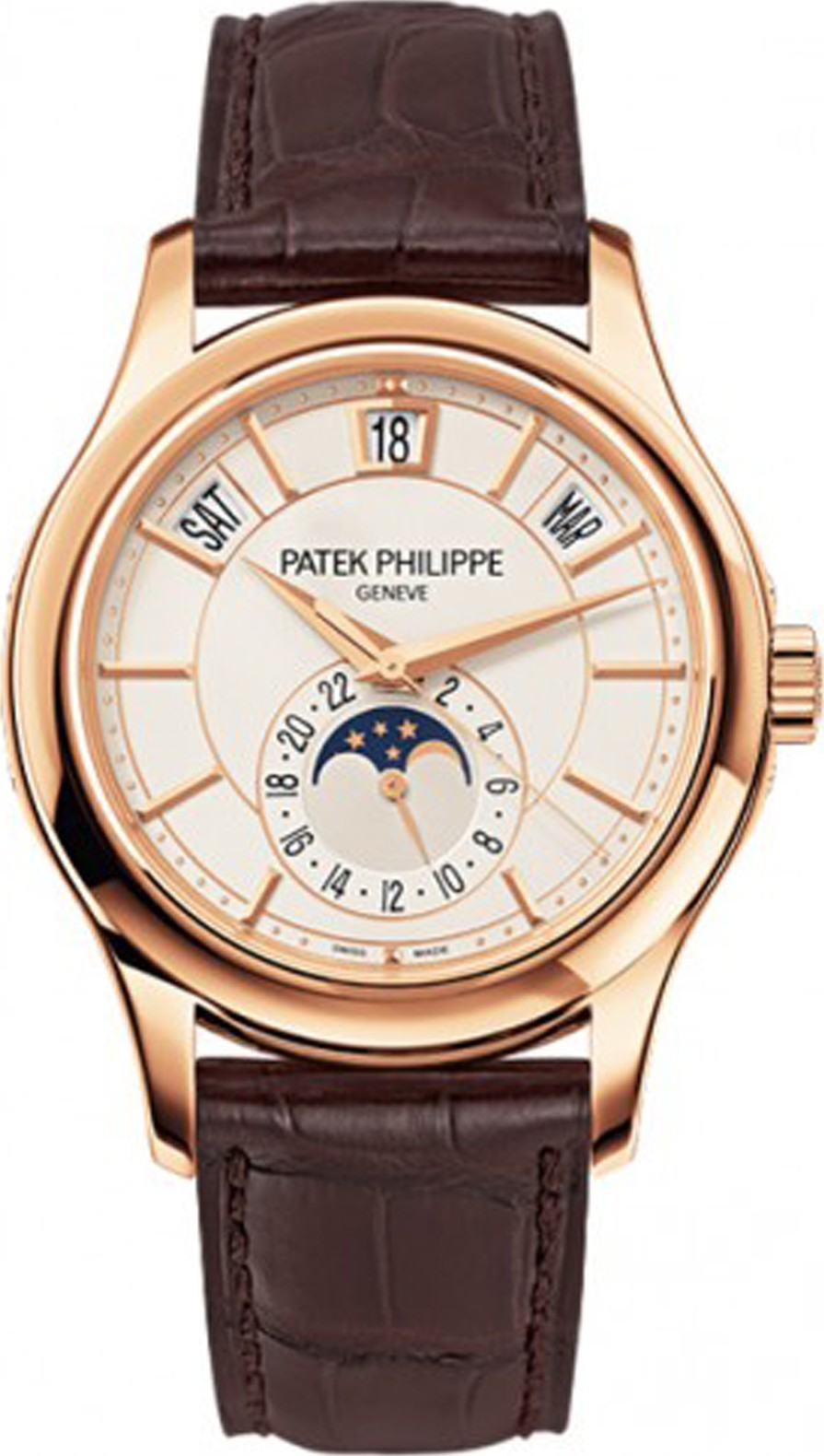 PATEK PHILIPPE Annual Calendar Opaline Watch 40mm