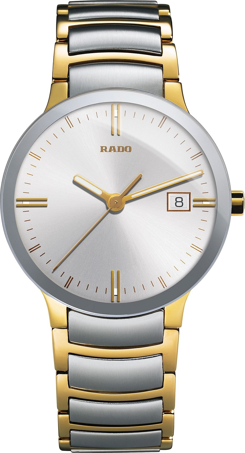 Rado Watch, Men's Swiss Centrix Two-Tone, 38mm