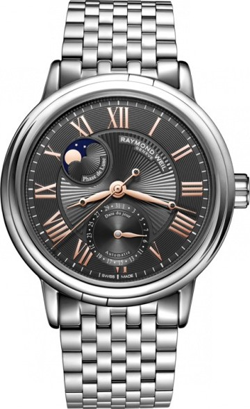 RAYMOND WEIL Freelancer Phase De Lune Watch 39mm
