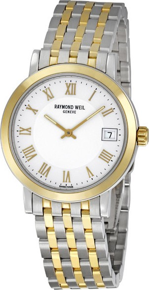 Raymond Weil Toccata Two-Tone Steel Mens Watch 34,5mm