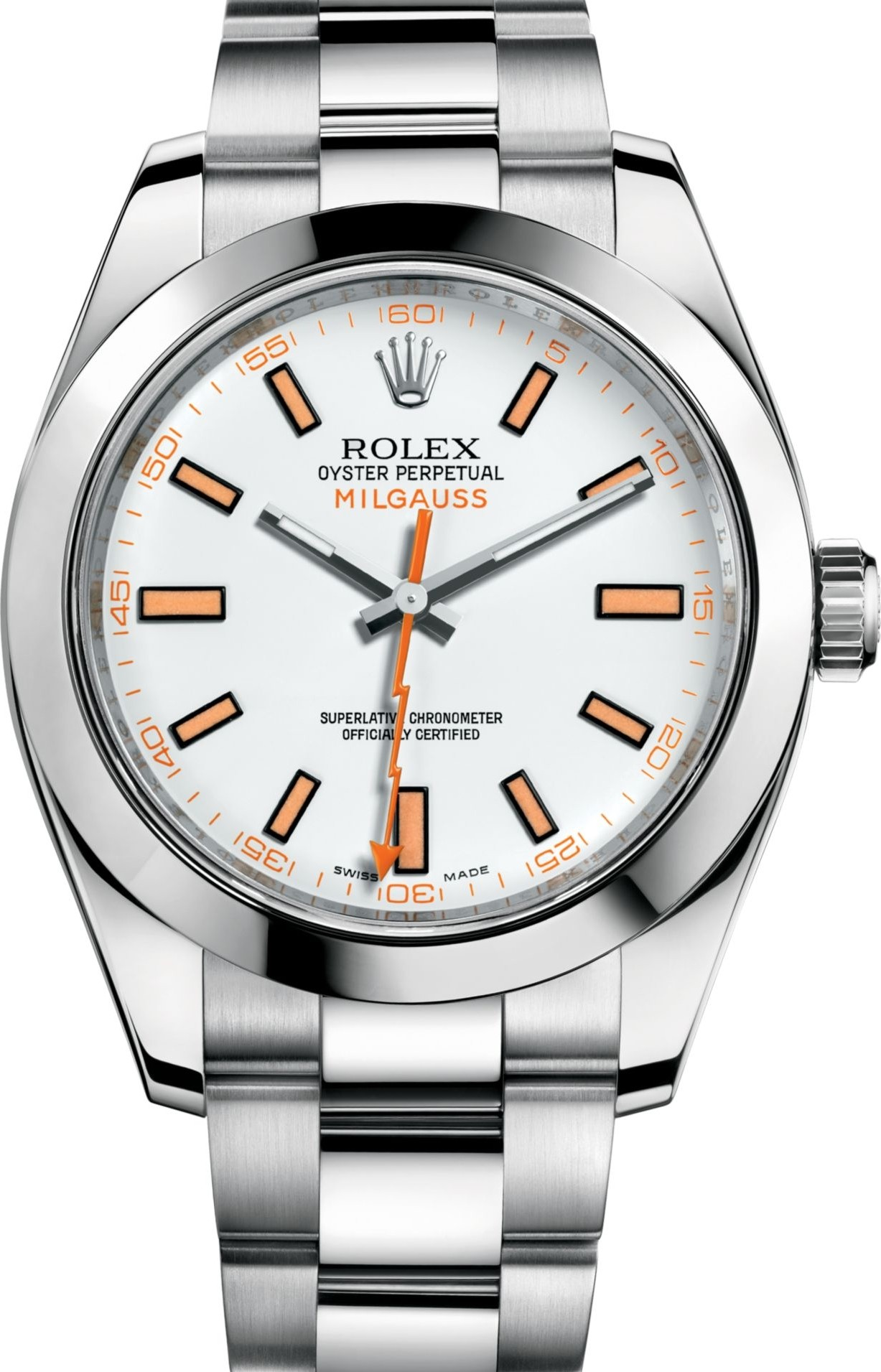 Rolex Milgauss 116400 Oyster Perpetual Watch 40mm