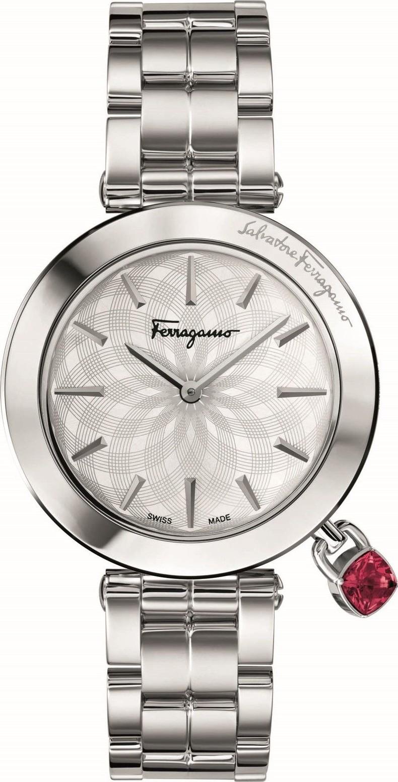 Salvatore Ferragamo FIC020015 Intreccio Silver Watch 36mm