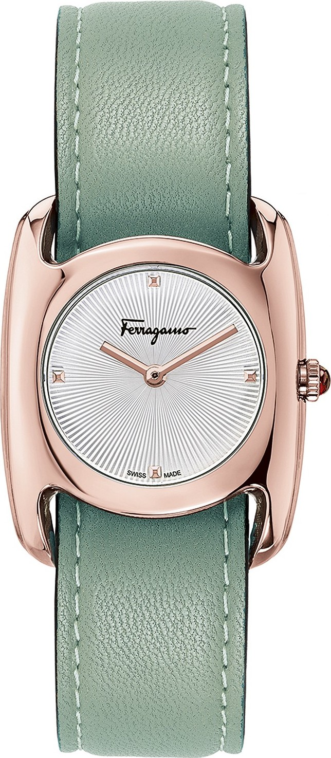 Salvatore Ferragamo Vara Swiss Watch 28x34mm